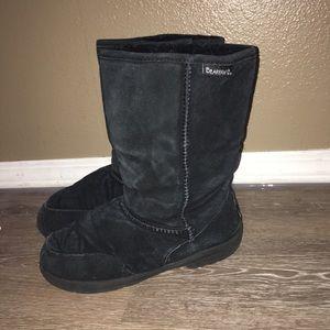 Bear paw black boots